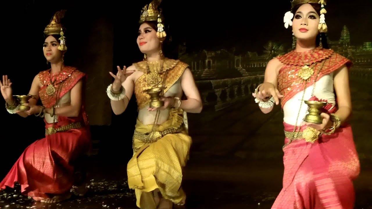 Apsara Dance, Khmer, Cambodia, Cambodge - YouTube