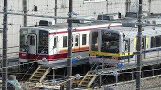 【東武6050系 6155F 南栗橋→新栃木に帰還!】南栗橋で 2ヶ月間 8506Fと連結して謎の留置を終え、新栃木で6160F+6155Fで留置。