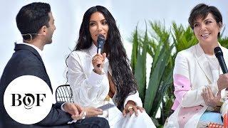 Creating Cultural Moments   Kim Kardashian West & Kris Jenner   #BoFWest