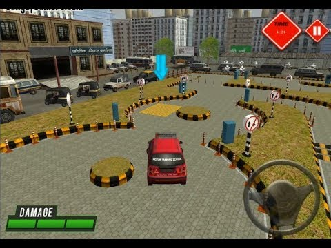 Driving License Test 3D / Car Driving Game / Browser Flash Games / Gameplay Video
