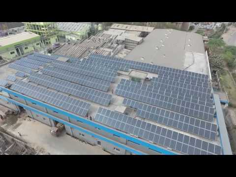 160 KW Rooftop Solar Power Plant installed by Systellar Innovations