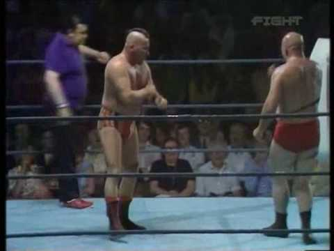 World Of Sport  Johnny War Eagle vs Johnny Czeslaw pt.1