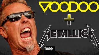 Metallica Replaces Green Day at Voodoo Experience 2012
