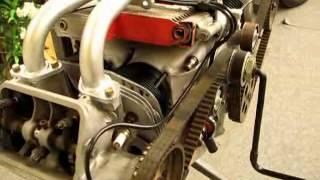 Citroën GS moteur de présentation