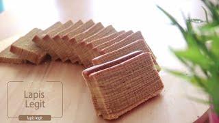 Spekkoek layer cake ( Indonesian Lapis Legit )