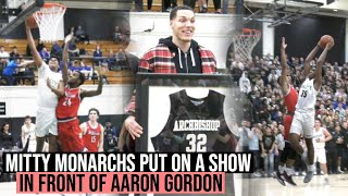 The Mitty Monarchs Put On A Show For Aaron Gordon On His Jersey Retirement Night!!! 2 Poster Dunks