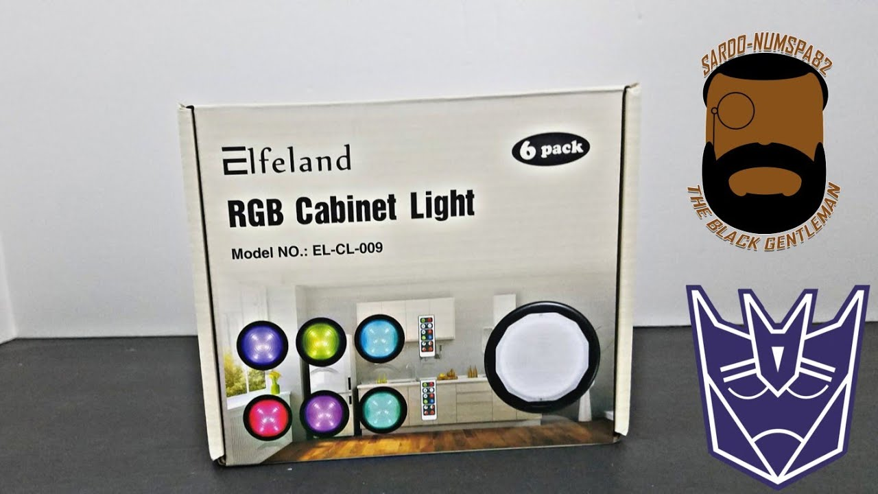 Elfeland RGB Display Cabinet Light Review By Randall Brice