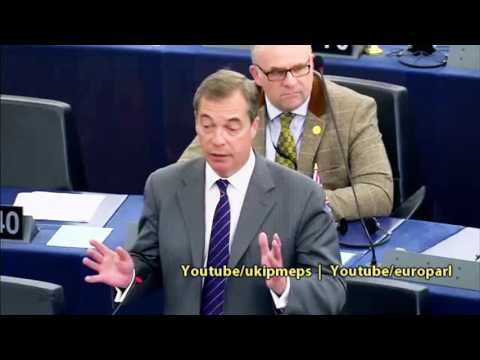 Unless Theresa May delivers on Brexit, her own party will get rid of her - Nigel Farage MEP