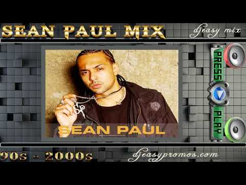 Sean Paul mix{Best of From the 90s- 2000s} djeasy Muzikryder