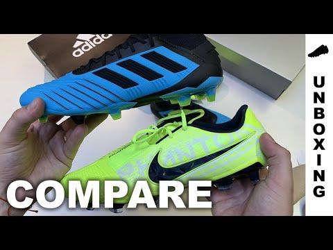 COMPARE: adidas Predator 19.1 FG vs Nike Phantom Venom Elite FG