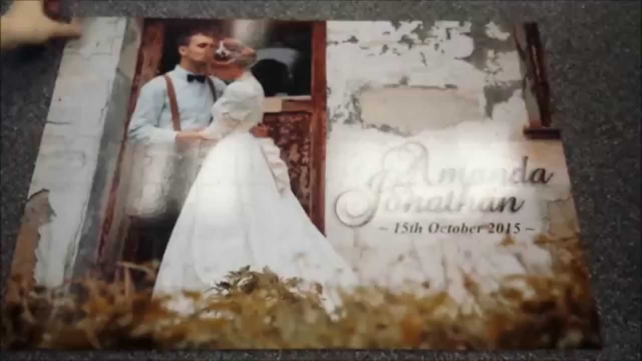 Wedding Guest Book Jigsaw Puzzle - YouTube
