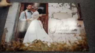 Wedding Guest Book Jigsaw Puzzle