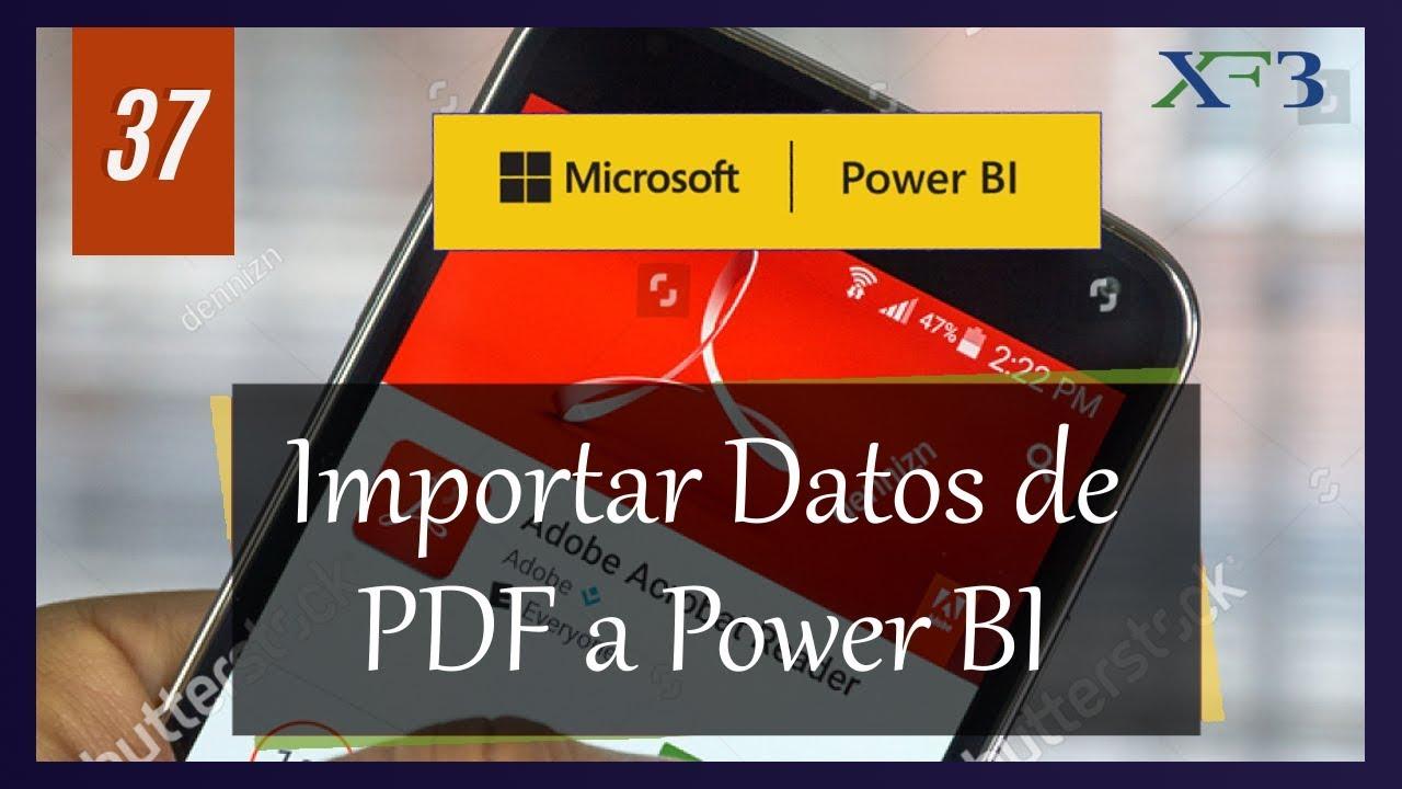 Importar Datos De Pdf A Power Bi Facilmente Power Bi Y Mas 37