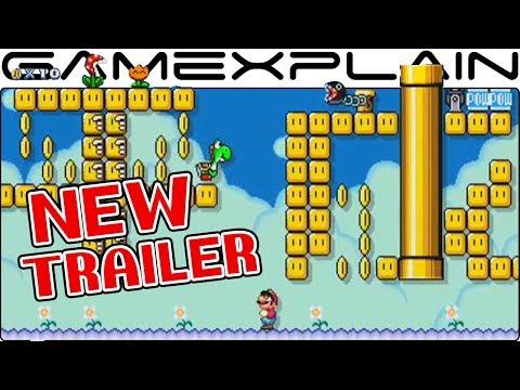 Super Mario Maker 2 - New Japanese Trailer!