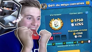 PACK OPENING COFFRE DE CLAN + DÉFI MEGA CHEVALIER ON DÉBLOQUE LA NOUVELLE LEGENDAIRE ?! CLASH ROYALE