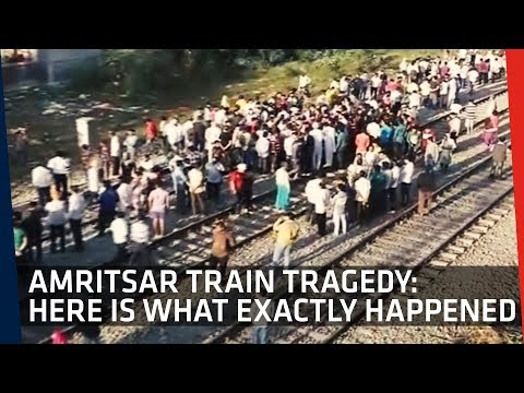 Amritsar Train Tragedy