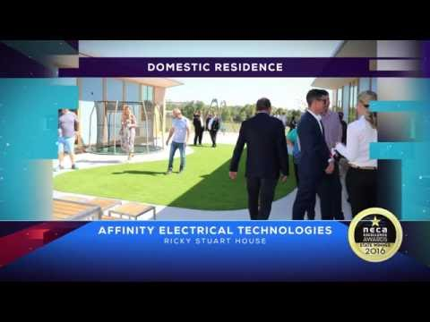 NECA ACT Award Winner Ricky Stuart House - Domestic Residence