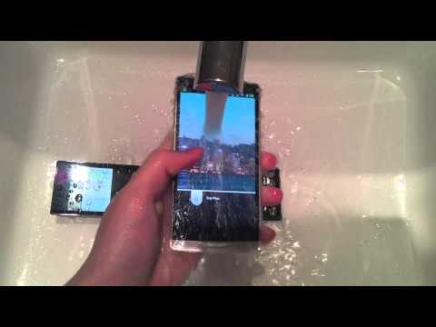 Japanese waterproof mobile phone