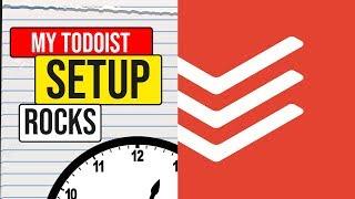 My Todoist Setup: Todoist Tips and Tricks 2018 📆