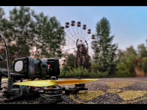 First Racing Drone in Chernobyl