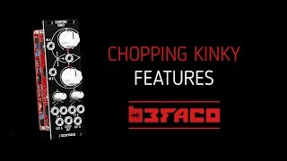 Chopping Kinky Eurorack Module Features - Befaco.org