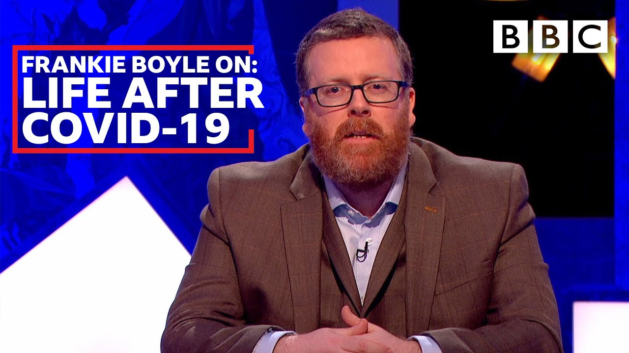 Coronavirus: Frankie Boyle's DARK message to young people... - BBC