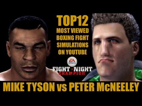 Mike Tyson vs Peter McNeeley | Top12 Most Viewed Boxing Fight Simulations [Fight Night Champion]
