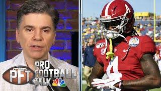 NFL draft rumors: Trading up for Jerry Jeudy, Giants moving back | Pro Football Talk | NBC Sports