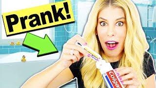 We finally PRANKED Matt! Toothpaste Numbing PRANK