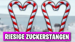 FREE Christmas Item 🍭 Visits Giant Sugar Canes | Fortnite 14 Days Event German