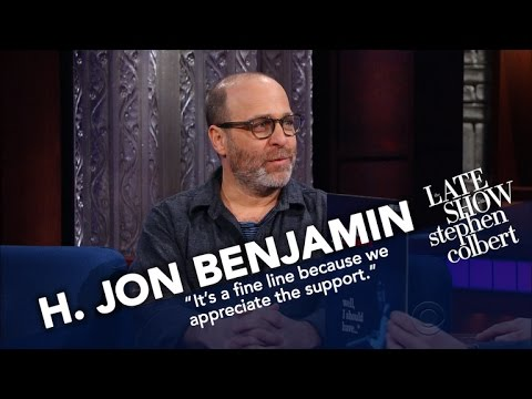 H. Jon Benjamin Doesn't Play An Instrument, But Recorded A Jazz Album