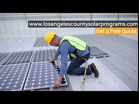 Los Angeles County Solar Programs