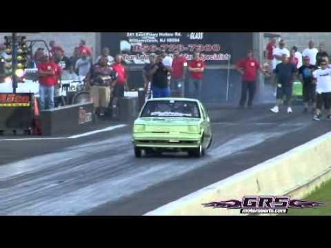 Santiago Racing 7.422 @ 178.19 MPH New Record @ panamerican 2011 atco nj