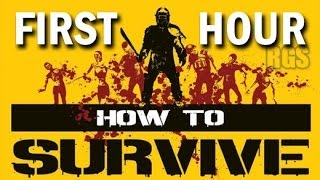 How To Survive Gameplay PC - Killing Zombies, Crafting and Survival - Full First Hour [HD]