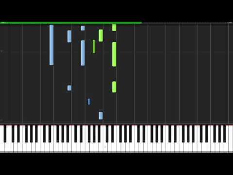 Hallelujah - Leonard Cohen [Piano Tutorial] (Synthesia) // Wouter van Wijhe