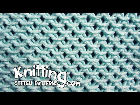 Chinese Knitting Patterns : Chinese Waves stitch - YouTube