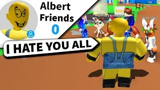 I abandoned my Roblox friends