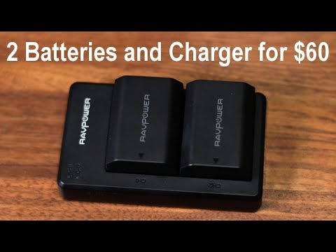 Sony A7 III - 2 Batteries And Battery Charger For $60