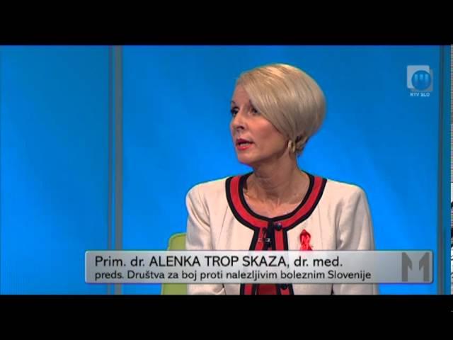 TELE M: Zdravstveni nasvet - AIDS, TV Maribor 2.12.2013