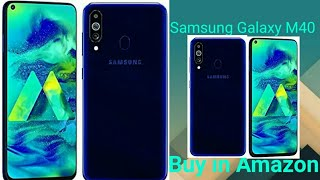 Samsung Galaxy M40 buy Amazon