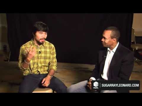 Sugar Ray Leonard Interviews Manny Pacquiao