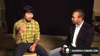 Sugar Ray Leonard Interviews Manny Pacquiao