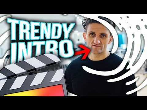 How To Make A Trendy Swoosh Intro - Final Cut Pro X