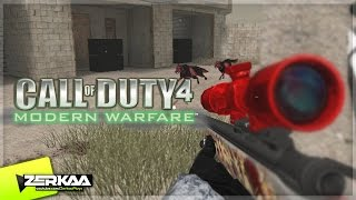 ZOMBIE MOD ON COD4 (Call of Duty 4 PC) (Part 1)