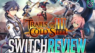 The Legend of Heroes: Trails of Cold Steel III Switch Review - TOP TIER JRPG! (Video Game Video Review)