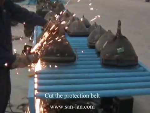 CRT monitor recycling- CRT cutter/Резак монитор ЭЛТ