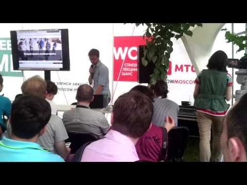 Endurance presentation on Geek Picnic, 14-th of June 2015, Moscow, Russia