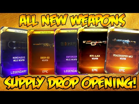 BLACK OPS 3 *ULTIMATE* SUPPLY DROP OPENING! NEW WEAPONS, SNI