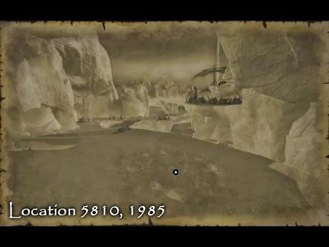 Neverwinter - Treasure Map Location - North East Snow Shelf