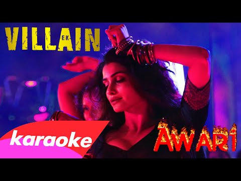 Awari (karaoke/instrumental) with Lyrics (2014) [from 'Ek Villain']